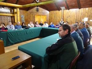 taller mapuche en CONAF Maule
