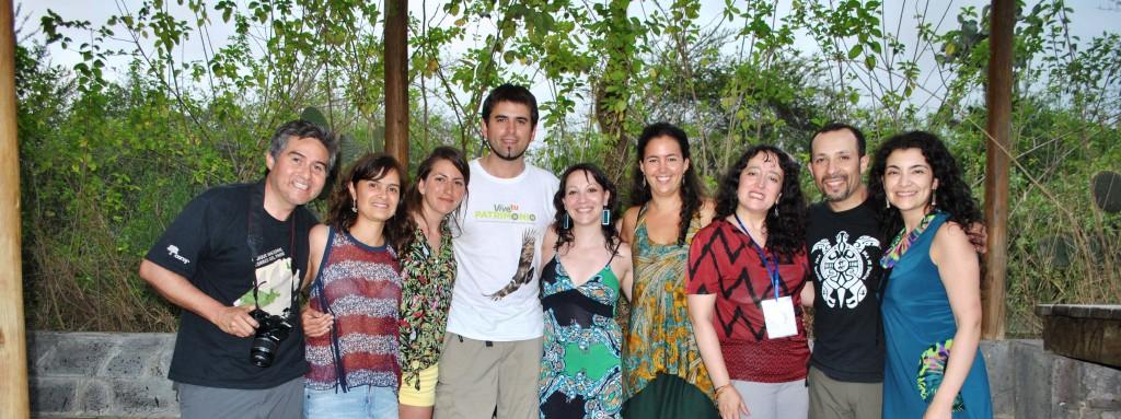 Delegación de Magallanes en Ecuador.