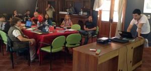 jornada de capacitación en RN Río Los Cipreses