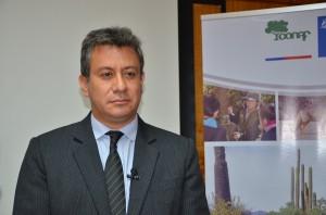 Oficial forestal de FAO para América Latina y el Caribe, Jorge Meza.