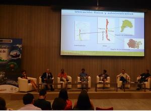 panel organizado por Perú