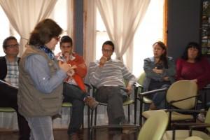 taller Río Los Cipreses.