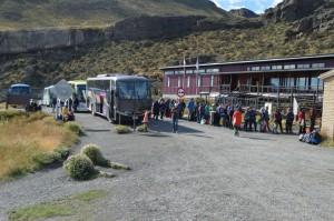 Durante febrero, producto de las inundaciones. se generaron aglomeraciones de turistas en las porterías del PNTP.